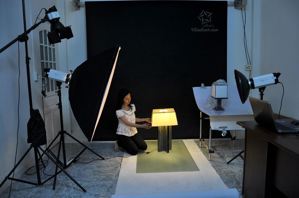 Chụp ảnh sản phẩm tại studio
